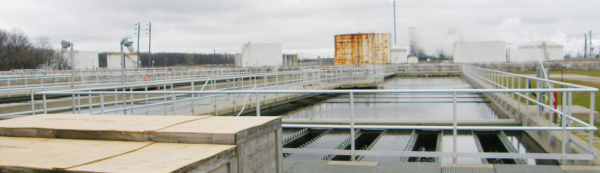 Sarnia Sewage Treatment Plant