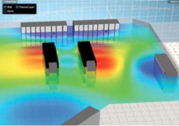 data centre heat output