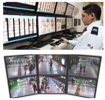 Video Monitoring, video display