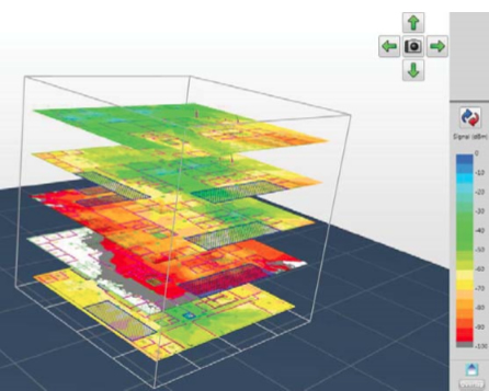 building wireless heat signature map